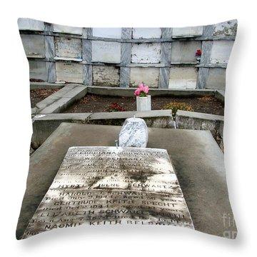 Untitled Throw Pillow by Ed Weidman