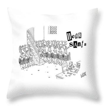 Kidnap Throw Pillows