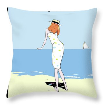 New Yorker August 29th, 2011 Throw Pillow