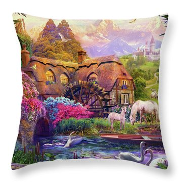 Throw Pillow featuring the photograph Light Palace by Jan Patrik Krasny