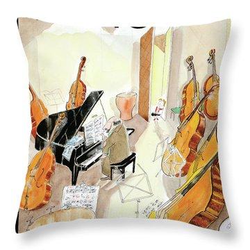 2011 Throw Pillows