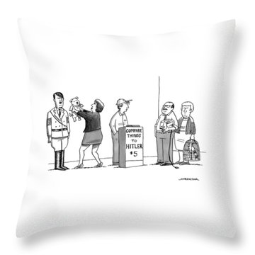 New Yorker September 5th, 2016 Throw Pillow