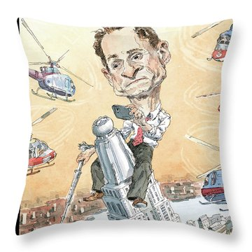 New Yorker August 5th, 2013 Throw Pillow