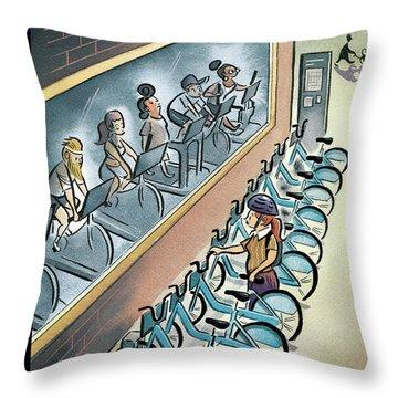 New Yorker June 3, 2013 Throw Pillow