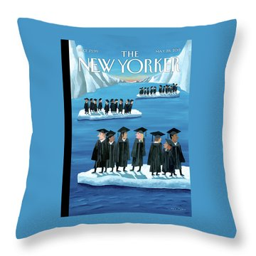 New Yorker May 28th, 2012 Throw Pillow