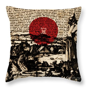 Untitled No.15 Throw Pillow by Caio Caldas