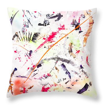 Untitled Number Seven  Throw Pillow
