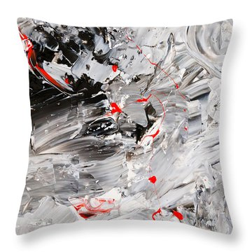 Untitled Number Twenty Two Throw Pillow
