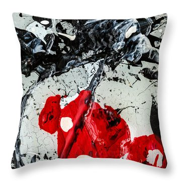 Untitled Number Two  Throw Pillow