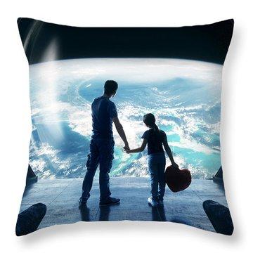 Universe Throw Pillows