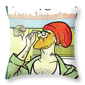 Brooklyn's Eustace Throw Pillow