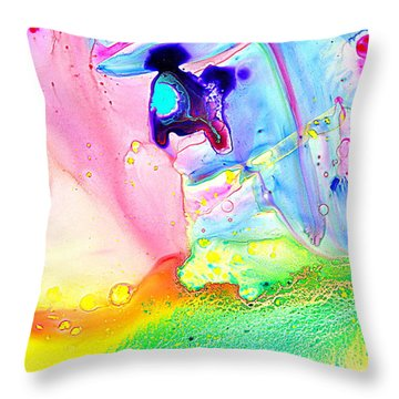Untitled Story Throw Pillow by Christine Ricker Brandt