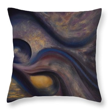 Untitled Throw Pillow by Stuart Engel
