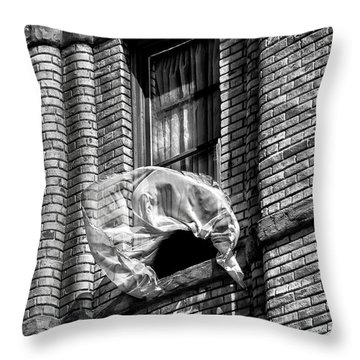 Untold News By Denise Dube Throw Pillow by Denise Dube
