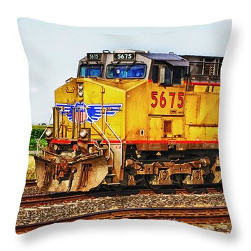 Throw Pillow featuring the photograph Up 5675 by Bill Kesler