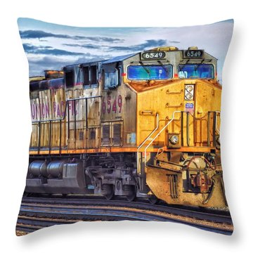 Throw Pillow featuring the photograph Up 6549 by Bill Kesler
