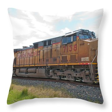 Up 7138 Galveston Texas Throw Pillow