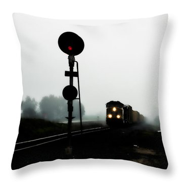 Throw Pillow featuring the photograph Up 8057 by Jim Thompson