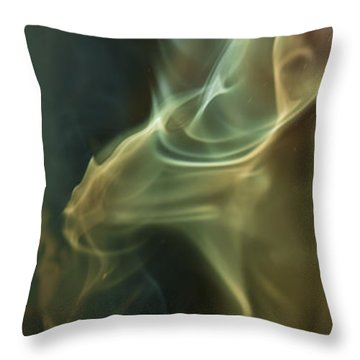 Up Against It Throw Pillow