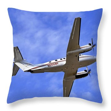 Up And Away Throw Pillow by Jason Politte