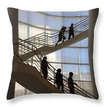Up And Down Throw Pillow by Art Block Collections