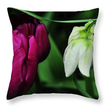 Up And Down Throw Pillow by Mike Martin