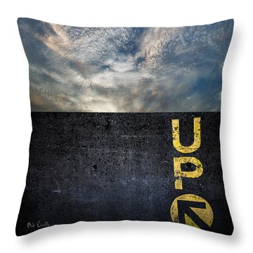 Up At Sunrise Throw Pillow by Bob Orsillo
