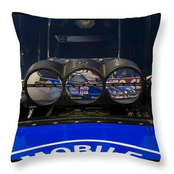 Up Close Power Throw Pillow