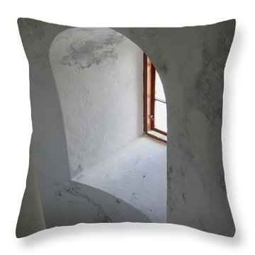 Up In The Tower Throw Pillow