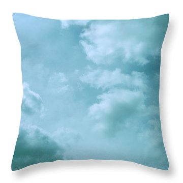 Up Into The Heavens Throw Pillow by Mary Wolf