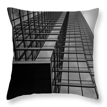 Up Throw Pillow by Mark Alder