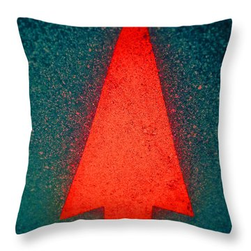 Throw Pillow featuring the photograph Up One Up by Steven Huszar