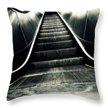 Up Or Down Throw Pillow by Zinvolle Art
