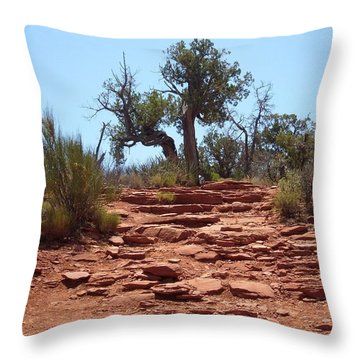 Up To The Vortex Throw Pillow