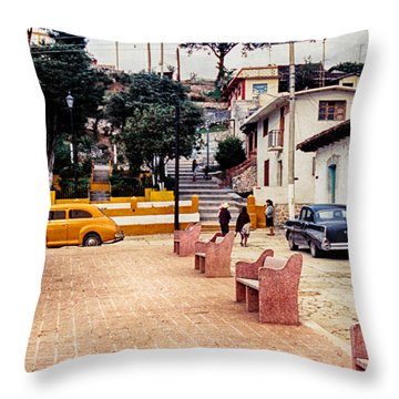 Up Town Throw Pillow