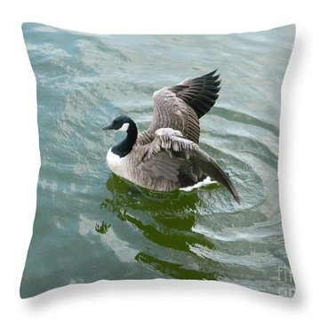 Throw Pillow featuring the photograph Up Up And Away by Emmy Marie Vickers