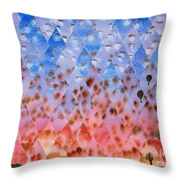 Up Up And Away Throw Pillow by Jeni Bate