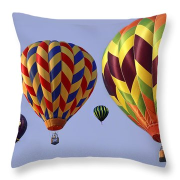 Up Up And Away Throw Pillow by Marcia Colelli