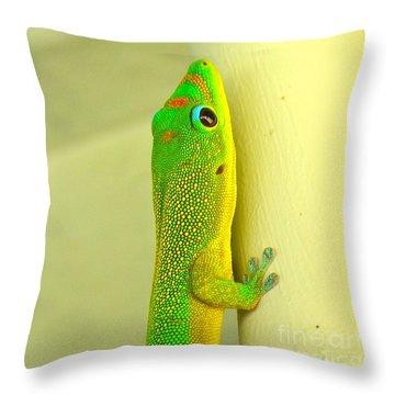 Upclose Throw Pillow