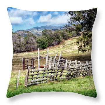 Upcountry 2 Throw Pillow