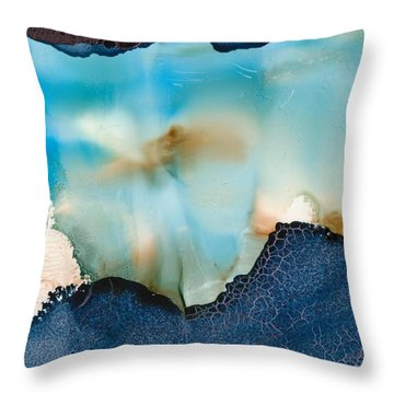 Updrafts Throw Pillow by Susan Kubes