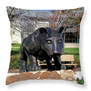 Upj Panther Throw Pillow