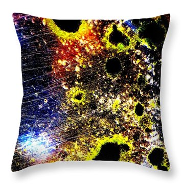 Upon Entry Throw Pillow