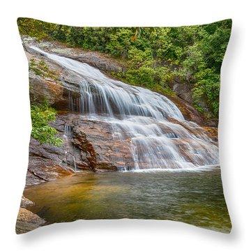 Upper Graveyard Falls Throw Pillow
