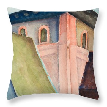 Upper Level Throw Pillow
