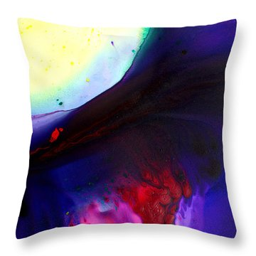 Throw Pillow featuring the painting Uprising by Christine Ricker Brandt