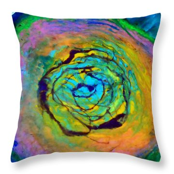 Uprising Iv Throw Pillow
