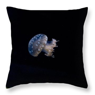 Upside Down Jellyfish 3 Throw Pillow