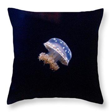 Upside Down Jellyfish 5 Throw Pillow