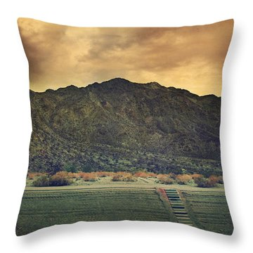Upstairs Throw Pillow by Laurie Search